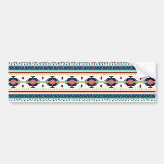 motif géométrique de Navajo ethnique tribal à la Adhésif Pour Voiture