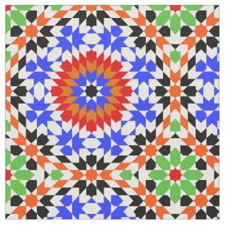 Motif géométrique islamique tissu
