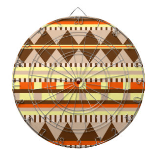 Motif géométrique jeu de fléchettes