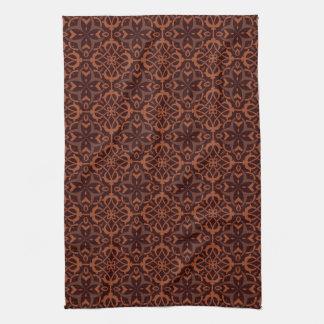 Motif géométrique moderne ethnique serviettes pour les mains