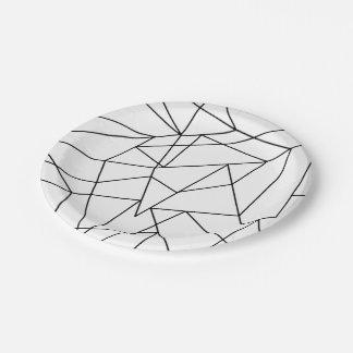 motif geometrique noir blanc assiettes motif geometrique noir blanc assiettes design. Black Bedroom Furniture Sets. Home Design Ideas