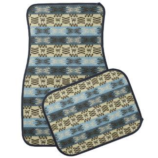 motif géométrique tribal africain ethnique tapis de voiture