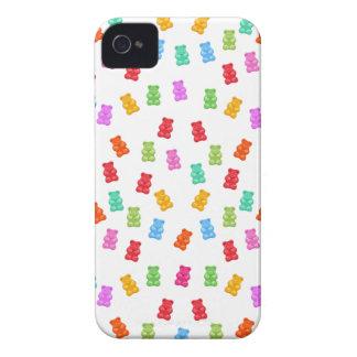 Motif gommeux d'ours coque Case-Mate iPhone 4