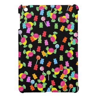 Motif gommeux d'ours coque iPad mini