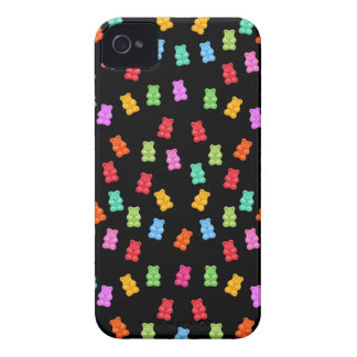 Motif gommeux d'ours coques iPhone 4 Case-Mate