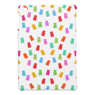 Motif gommeux d'ours coques pour iPad mini