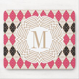 Motif grec de femme de merveille tapis de souris