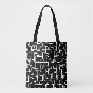 Motif gris blanc noir de Digitals Camo Tote Bag