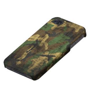 Motif grunge de camouflage étui iPhone 4/4S