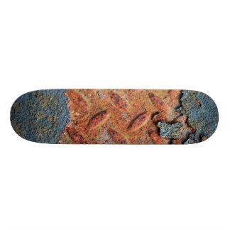 Motif grunge de texture de rétro rue rouillée skateoard personnalisé
