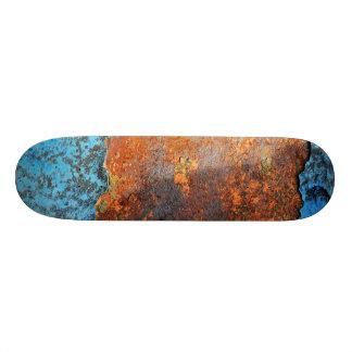 Motif grunge de texture de rétro rue rouillée skateboards customisés