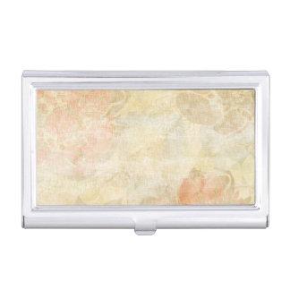 motif grunge floral d'arrière - plan d'art porte-cartes de visite