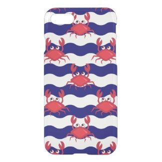 Motif heureux de crabes coque iPhone 8/7