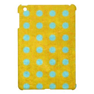 Motif heureux de pois étuis iPad mini