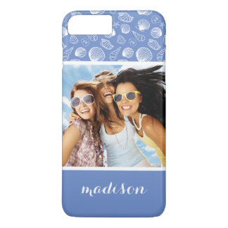 Motif impertinent | de coquillage votre photo et coque iPhone 8 plus/7 plus