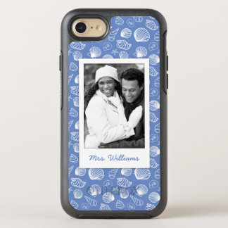 Motif impertinent | de coquillage votre photo et coque OtterBox symmetry iPhone 8/7