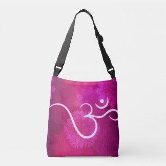 Motif indien d'ornement avec le symbole d'ohm sac ajustable