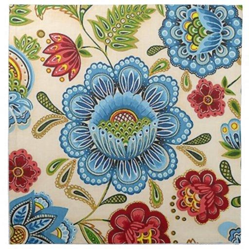 motif indien floral vintage de paisley r tro serviette en. Black Bedroom Furniture Sets. Home Design Ideas