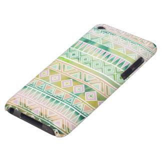 Motif inspiré par Aztèque en pastel d'aquarelle Coque Case-Mate iPod Touch