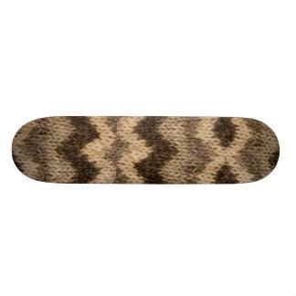 Motif islandais de laine plateaux de skate