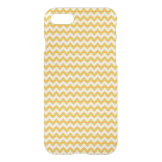 Motif jaune de chevron coque iPhone 7