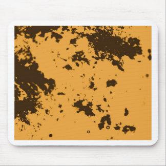 Motif jaune de Duotone Tapis De Souris