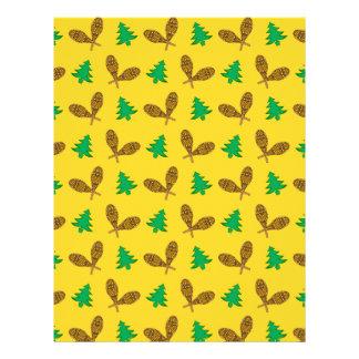motif jaune de raquette prospectus