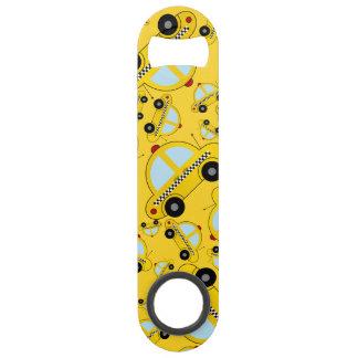 Motif jaune de taxi