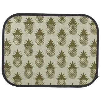 Motif kaki d'ananas tapis de sol