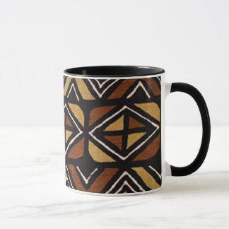 Motif kenyan #2 de tissu de boue mug