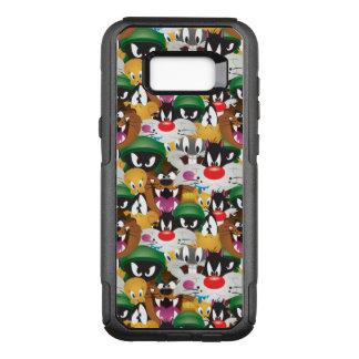 Motif LOONEY de TUNES™ Emoji Coque Samsung Galaxy S8+ Par OtterBox Commuter