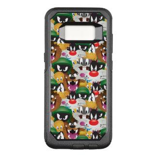 Motif LOONEY de TUNES™ Emoji Coque Samsung Galaxy S8 Par OtterBox Commuter
