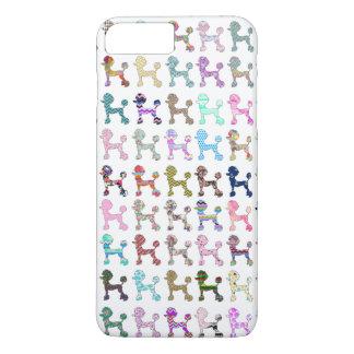 Motif lunatique Girly de Chevron de caniche Coque iPhone 7 Plus