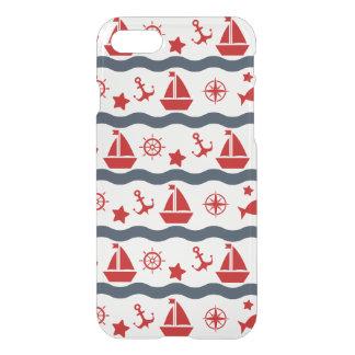 Motif maritime mignon coque iPhone 7