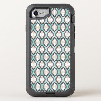 Motif marocain de turquoise coque otterbox defender pour iPhone 7