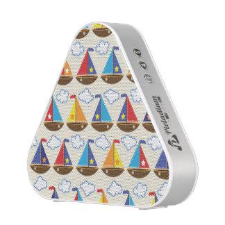 Motif mignon 2 de voilier haut-parleur bluetooth