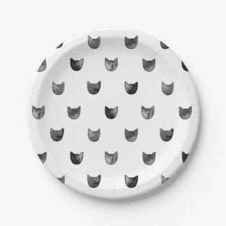 motif noir et blanc assiettes motif noir et blanc assiettes design. Black Bedroom Furniture Sets. Home Design Ideas