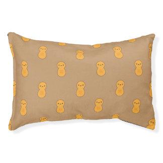 Motif mignon d'arachide lit pour chien