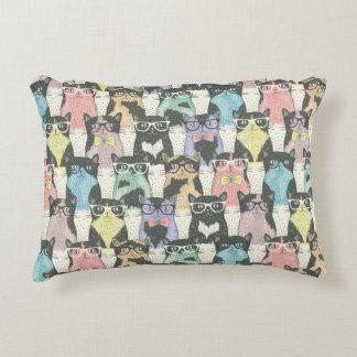 Motif mignon de chats de hippie coussins décoratifs