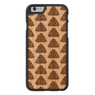 Motif mignon de dunette - piles adorables de Doo Coque Mince En Cerisier iPhone 6
