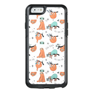 Motif mignon de paresse coque OtterBox iPhone 6/6s