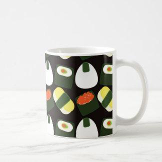 Motif mignon de sushi mug