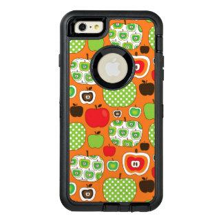 Motif mignon d'illustration de pomme coque OtterBox iPhone 6 et 6s plus