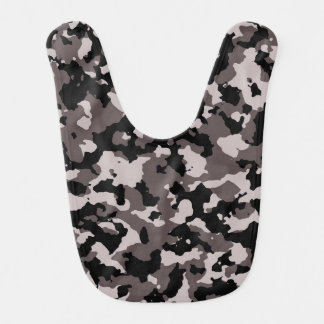 Motif militaire de camouflage de Brown Bavoir