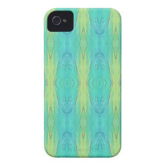 Motif moderne de jolie chaux turquoise de citron coques iPhone 4 Case-Mate