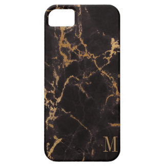 Motif moderne de scintillement d'or coque barely there iPhone 5