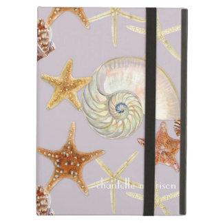 Motif moderne de Shell de mer de feston de Nautilu