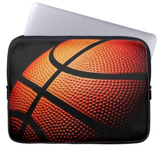 Motif moderne de texture de peau de boule de sport protection pour ordinateur portable