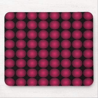 Motif moderne Mousepad du rouge 3D Tapis De Souris