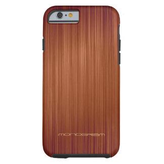 Motif-Monogramme en bois rouge de texture de regar